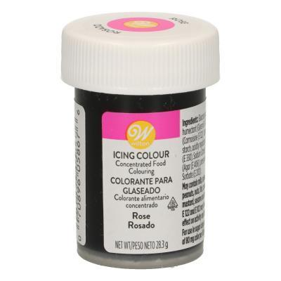 Wilton Icing Color, rose - 28g