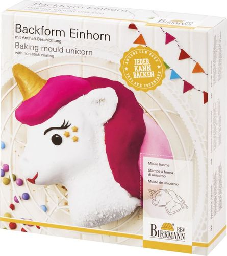 Backform Einhorn