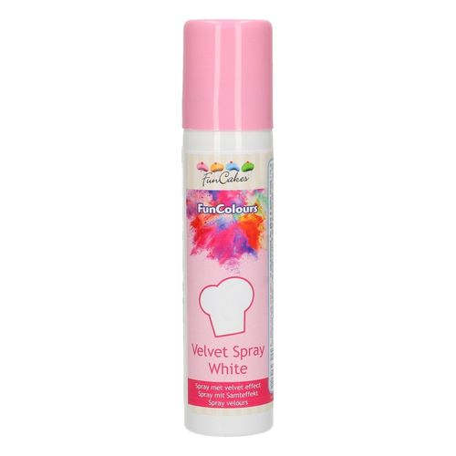 FunCakes FunColours Velvet Spray -Weiss- 100ml