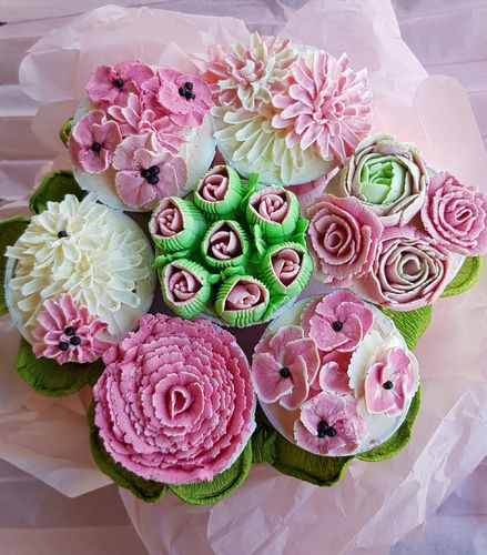 Workshop Cupcake Blumen Bouquet - 28.03.2020 - 10 Uhr
