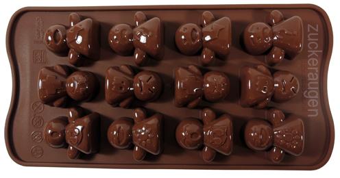 silikonformen für schokolade